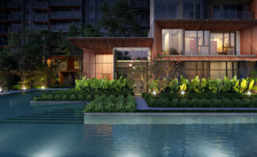 leedon-green-garden-villa-night-view-singapore